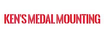 Ken's Medal Mounting